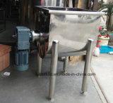 Mezclador horizontal seco de la cinta de la mezcladora del polvo del acero inoxidable