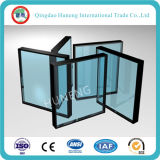 6+12UN+6mm vidrio aislante claro (sellado de vidrio)