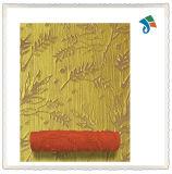 Rolo decorativo da arte de uma cor vermelha de 9 polegadas