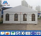 Tienda blanca de Maequee de la cubierta de PVC para los partidos de graduación
