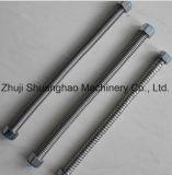 Montaggi ondulati del condizionatore d'aria del tubo dell'acciaio inossidabile