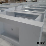 Bassin de salle de bain en acrylique solide en surface