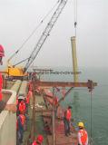Pipe de fibre de verre utilisée sous la mer ou l'eau