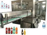 Минеральная машина упаковки воды бутылки заполняя разливая по бутылкам