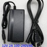 12V 2A 24Wデスクトップ様式ACアダプターのラップトップ力のアダプター