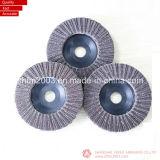 """Dischi di lucidatura della falda dell'allumina di Zirconia di T27 7 """" 180X22mm in granulosità 80"""