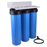 Grande filtro da acqua enorme blu delle 3 fasi