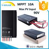 Contrôleur Sm1010 de charge de panneau solaire de Lumière-Contrôle de MPPT IP67 10AMP