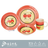 Ensemble de dîner peint à la main, vaisselle en céramique chinoise, vaisselle en céramique