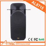 Altofalantes ativos ao ar livre da boa qualidade e melhor altofalante de madeira portátil do trole do amplificador