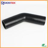 Résistantes à la chaleur de 45 degrés du flexible de coude en caoutchouc de silicone Silicone tube