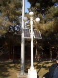 Luz de calle solar de Haochang del nuevo diseño toda en un sistema integrado