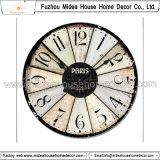 El hogar de Customed del fabricante de China adorna el reloj de madera