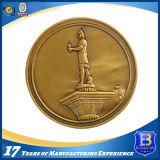 Изготовленный на заказ монетка металла золота промотирования 3D (ele-C100)