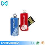 Mini azionamento istantaneo della penna del USB del bastone di promozione metallo di torsione/della parte girevole