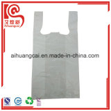 La bolsa de plástico popular de las compras de la camiseta
