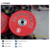 Piatti Bumper di Plyurethane per la strumentazione di ginnastica di Crossfit