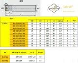 Вставка Emp01-012-G16-Ap11-01 Cutoutil для стального Hardmetal сопрягая стандартные филируя инструменты