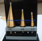 3 sistemas de los pedacitos de taladro de torcedura del paso del PCS HSS