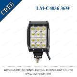 LEIDENE van de Verkoop IP67 CREE van Lmusonu Hete Afslaande Lichte Staaf 3240lm van de Weg voor 4X4 4 LEIDENE van de Rijen van de Duim 36W Vier Lichte Staaf