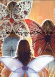 De met de hand gemaakte Verbazende Vleugels van de Partij van de Vlinder van de Engel van de Veer