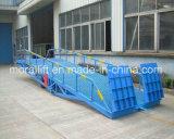 10t hydraulique de rampe de chargement mobile