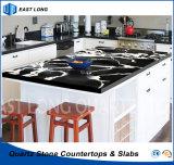 Quarz-KücheCountertop für Baumaterial mit SGS u. Cer-Bescheinigungen (Calacatta)