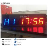 Temporizzatore programmabile di esercitazione del temporizzatore di ginnastica del temporizzatore di allenamento del temporizzatore di inscatolamento del temporizzatore della cifra del temporizzatore di intervallo di Crossfit 8