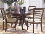 Eichen-Esszimmer-Abendessen-hölzerner festes Holz-Schreibtisch-Stuhl
