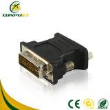 DVI macho-hembra de alimentación portátil 24+5 M/ VGA F adaptador de datos
