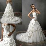 Stile Well-Bred ed abito popolare di /Wedding del vestito da cerimonia nuziale (dan-4)