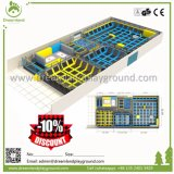 Novo interior macio trampolim, parque de diversões no interior do Parque trampolim, Cama de salto