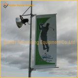 Металлический столб освещения улиц реклама флаг оборудования (BT83)