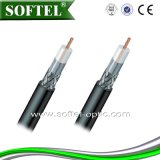 중국에 있는 Rg58/Rg59 Bc/CCS 쿼드 Shield House Drop Coaxial Cable From High Technology Manufacture
