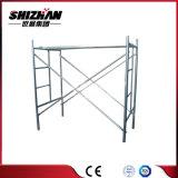 Andamio de acero del bloqueo de la abrazadera de marco de la escala de Shizhan