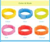 Bracelet Taille-Réglable de produit répulsif de moustique de silicones