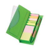 Note collante de Notepad collant populaire avec le logo fait sur commande