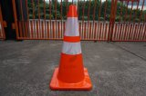 Coni riflettenti di traffico del cono di sicurezza stradale del PVC del nastro