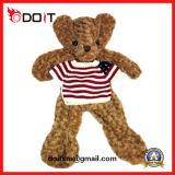 Aangepaste  Unstuffed Huid van de Teddybeer van het Speelgoed van de Pluche met T-shirt