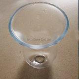 máscara de lâmpada de vidro de sopro I083 da espessura de 5mm