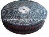 """roue de polissage de polissage de coton de point de la couleur 8 """" X1 """" pour le métal"""