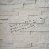 Weißer Quarzit (AB035) für Wand-Umhüllungen/Wand-Ziegelsteine