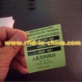 Smart 125kHz etiqueta RFID para el uso de billete