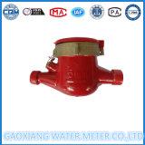 빨간 바디 물 미터 제조자에서 금관 악기 온수 미터