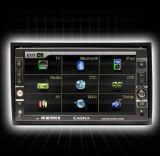 Due sistema dello schermo di tocco di baccano DVD (CA1615)