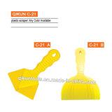 Conjunto plástico del raspador del color del amarillo del ABS C-21