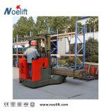 Reichweite und schmaler Gang-Gabelstapler. 1.5t 2.5t elektrischer Reichweite-LKW (stehen-auf)