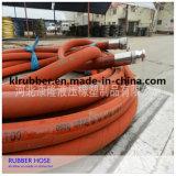 Stahldraht-umsponnener Gummidampf-Schlauch mit hohem Temperatur