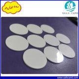 13.56MHz scheda programmabile della moneta del PVC di HF RFID della modifica in bianco del disco