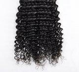 Kinky Curly 100% virgem Brasileira Extensões de cabelo humano